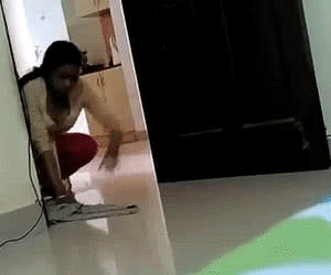 Maid And Housekeeper animated GIF