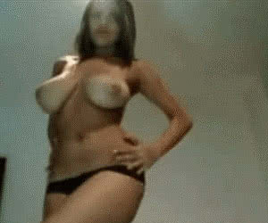 Tits Play animated GIF