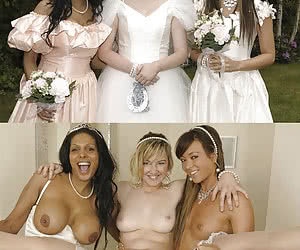 Brides and whores - before and after