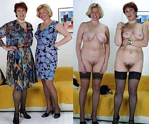 undressed grannies dressed Mature